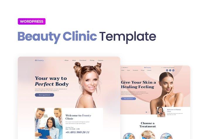 Feanty – Beauty Clinic Elementor Template Kit