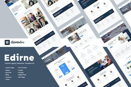 Edirne - Elementor-Template Kit digitale Dienste