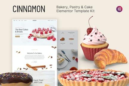 Zimt - Bäckerei & Konditorei Elementor Template Kit