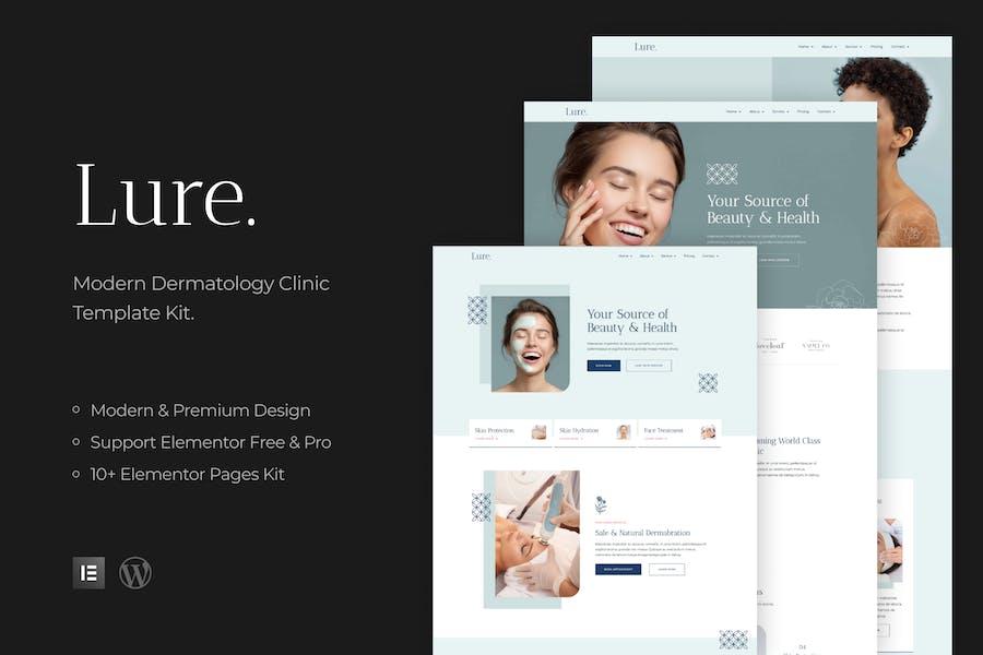 Lure - Modern Dermatology Template Kit