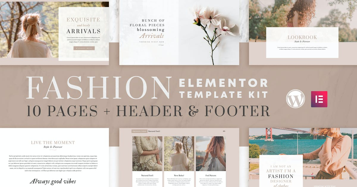 Download Fashion Instincts - WooCommerce Elementor Template Kit by touringxx
