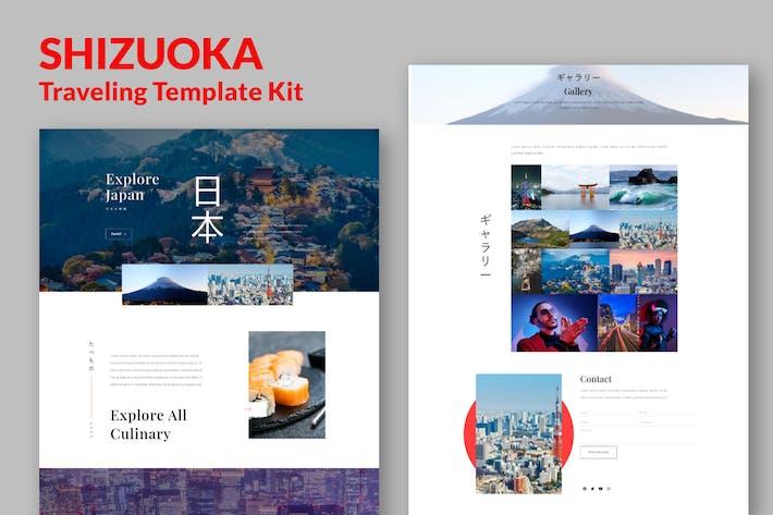 Thumbnail for Shizuoka - Reise-Elementor-Template Kit