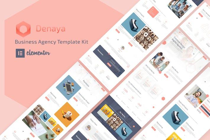 Thumbnail for Denaya - Business Agency Elementor Template Kit