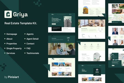 Griya | Real Estate Elementor Template Kit