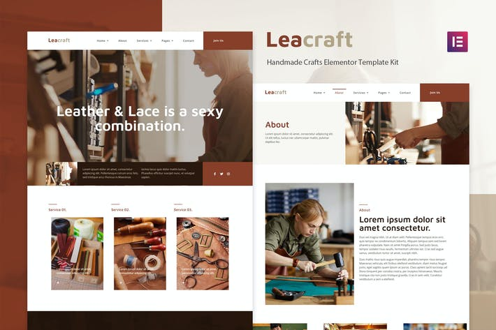 Leacraft - Template Kit para manualidades hechas a mano