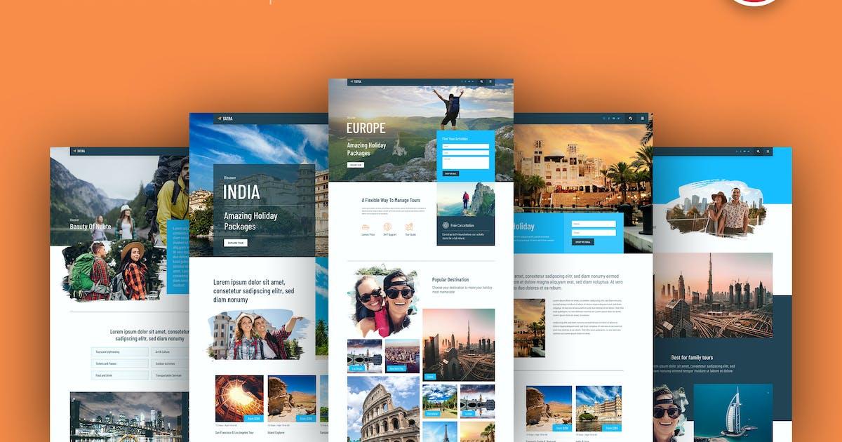 Download Tatra - Travel Agency Elementor Template Kit by C-Kav