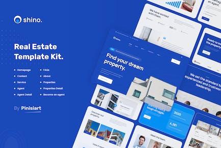 Shino | Real Estate Elementor Template Kit