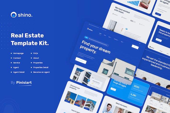 Thumbnail for Shino | Real Estate Elementor Template Kit