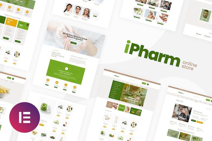 iPharm - Online-Apotheke Woocommerce Elementor Template Kit