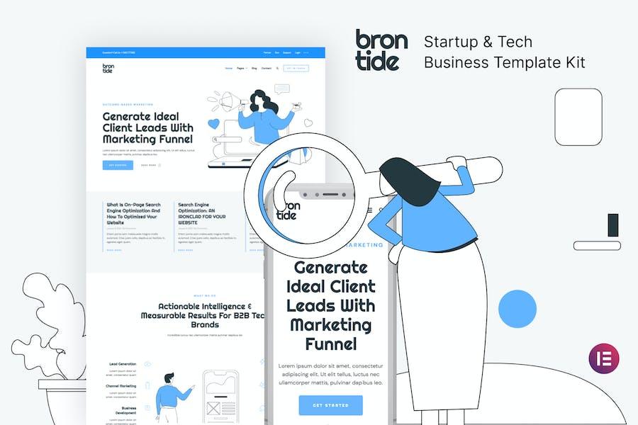 Brontide — Template Kit для запуска ИТ-решений и технологий