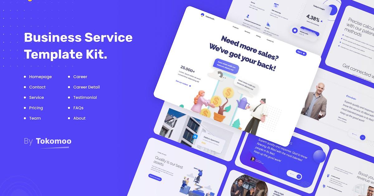 Download Sabertooth | Business Service Elementor Template Kit by tokomoo