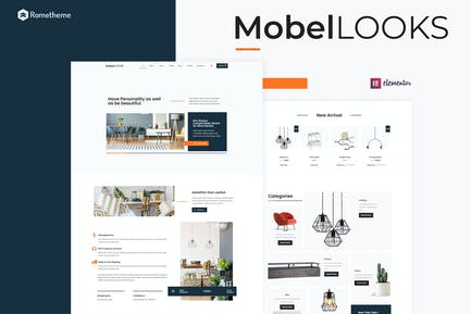 Mobel Looks - Muebles WooCommerce Elementor Template Kit