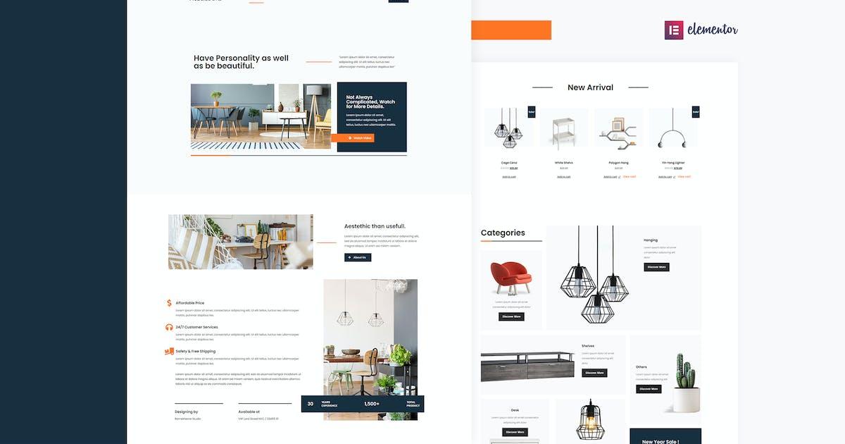 Download Mobel Looks - Furniture Store WooCommerce Elementor Template Kit by Rometheme