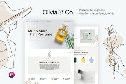 Olivia & Co – Perfume & Fragrance WooCommerce Template Kit