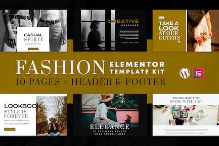 Fashion Spirit - WooCommerce Elementor Template Kit