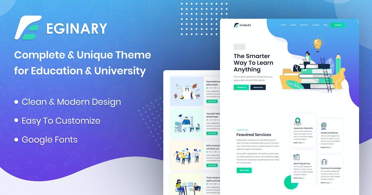 Download Eginary - Online Education Elementor Template Kit by designingmedia
