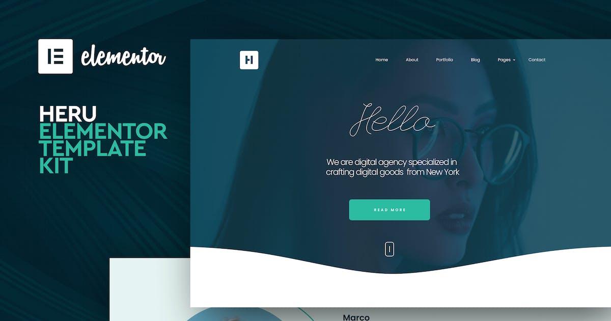 Download Heru - Creative Elementor Template Kit by CocoBasic