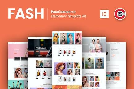 Fash - WooCommerce Elementor Template Kit