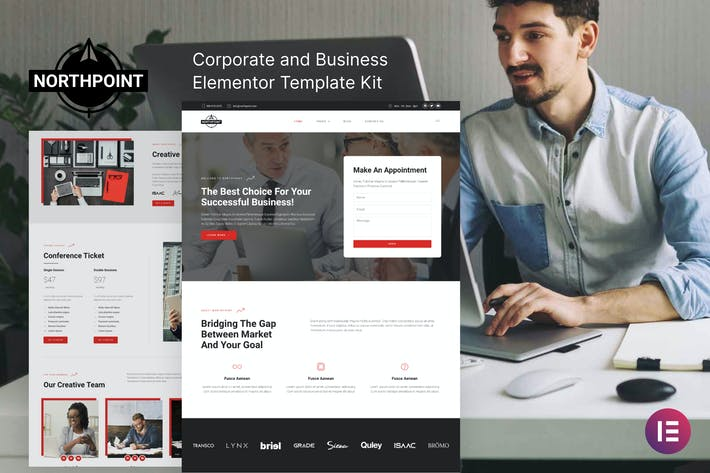 Northpoint - Business & Unternehmens- Elementor Template Kit
