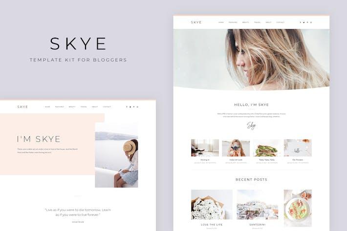 Skye - Modernes Blog Elementor Template Kit