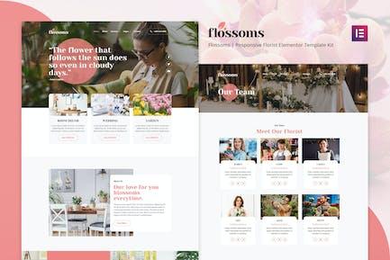 Flossom - Flower Shop Elementor Template Kit