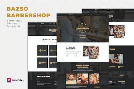 Bazso - Barbershop Elementor Template Kit