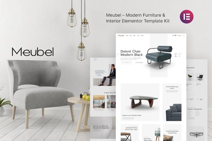 Meubel — Muebles modernos WooCommerce Elementor Template Kit