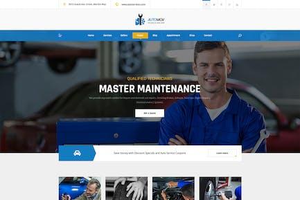 Automov - Ремонт автомобилей и услуги Elementor Template Kit
