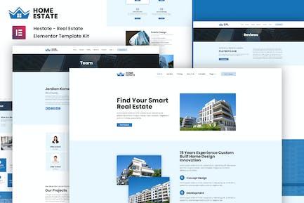 H-Estate - Template Kit élémentor immobilier