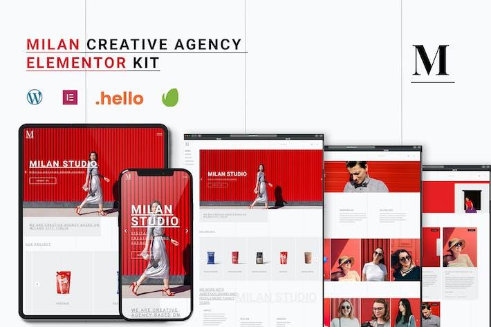 Mailand - Kreativagentur Elementor Template Kit