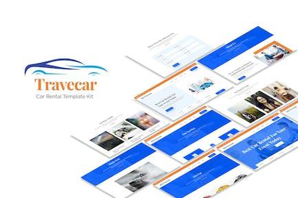 Travecar - Car Rental Elementor Template Kit