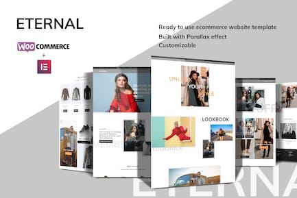 Eternal - Ecommerce Elementor Template Kit