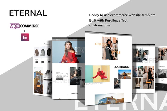 Eternal - Ecommerce Elementor Template Kit