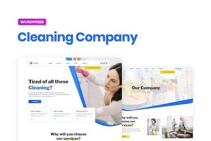 Clino — Limpieza de negocio Elementor Template Kit