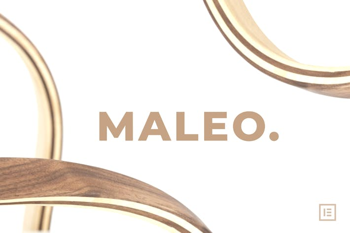 Maleo - Minimal Home Decor & Furniture Template Kit