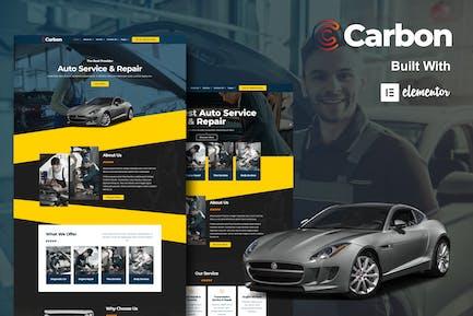 Carbon - Car Service Elementor Template Kit