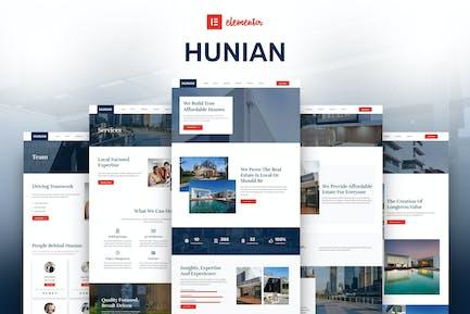 Hunian - Real Estate Elementor Template Kit