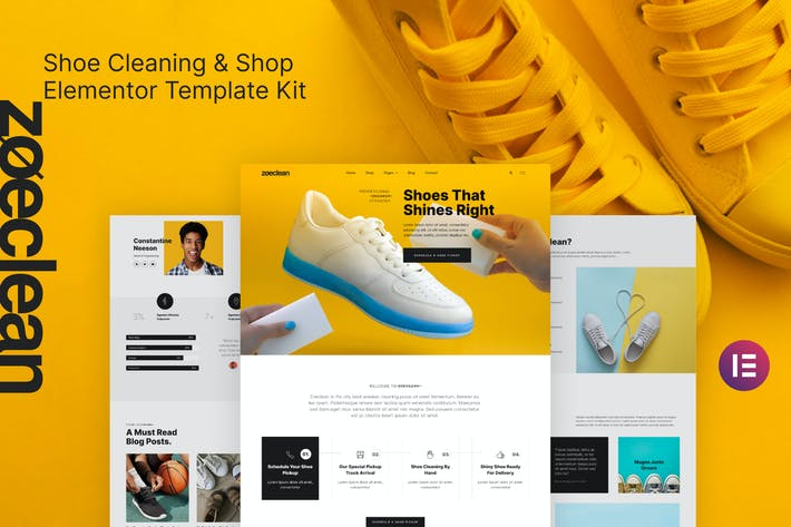 Zoeclean - Shoe Cleaning & Shop Template Kit