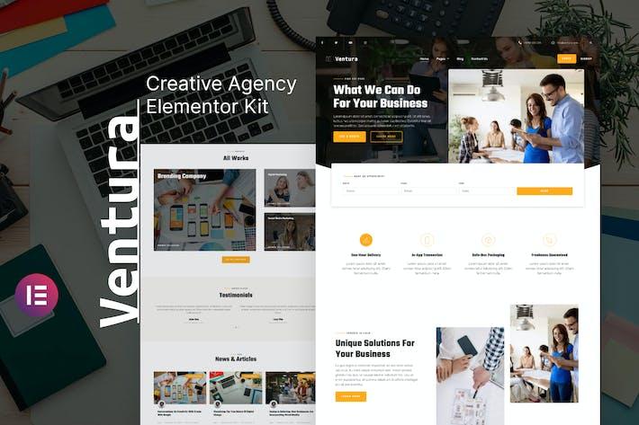 Ventura - Template Kit Elementor de la Agencia Creativa