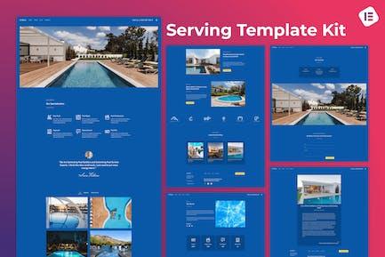Citala — Schwimmbad-Wartungsfirma Elementor Template Kit