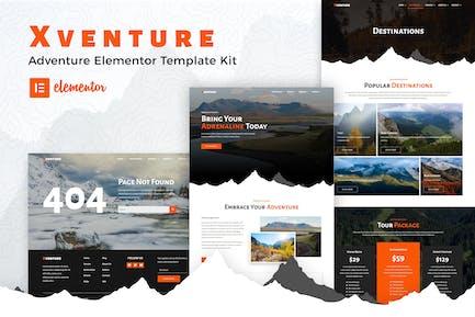 Xventure - Reise-Elementor-Vorlagenset