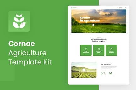 Cornac - Agriculture Elementor Template Kit