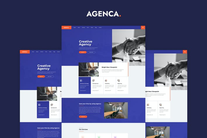 Agença - Creative Agency Elementor Template Kit