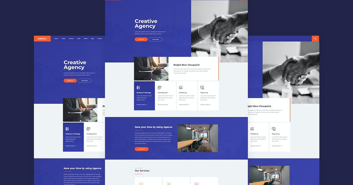 Download Agenca - Creative Agency Elementor Template Kit by MeemCode
