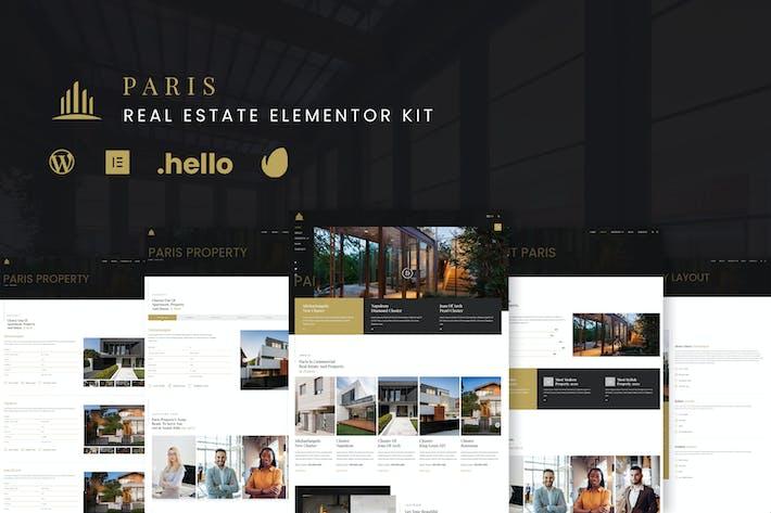 Paris - Real Estate Elementor Kit