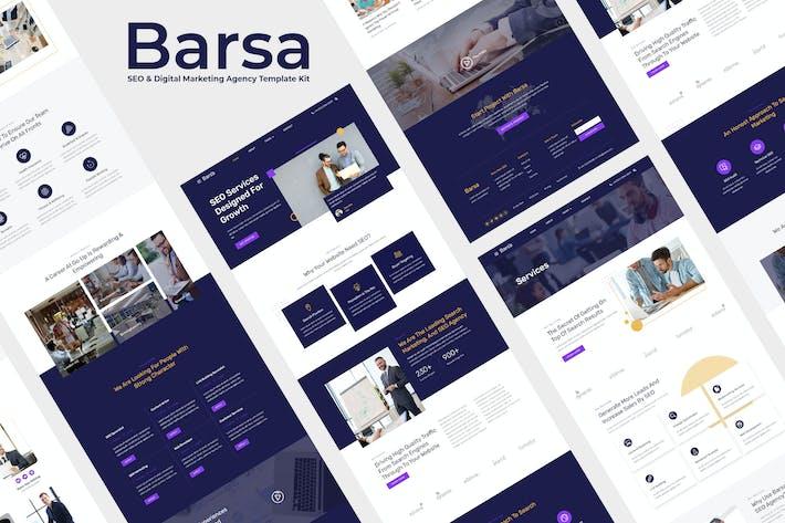 Barsa - SEO & Digital Marketing Agency Template Kit