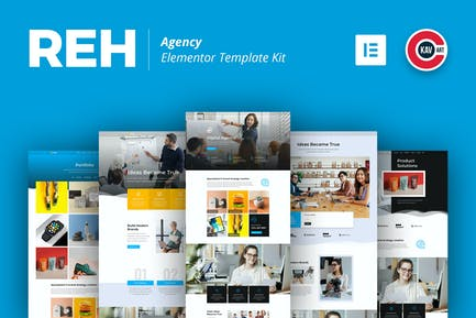 Reh - Agency Elementor Template Kit