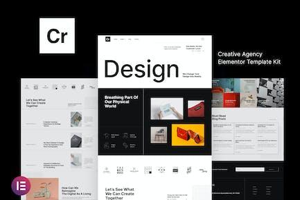 Crispin — Creative Agencia Elementor Template Kit