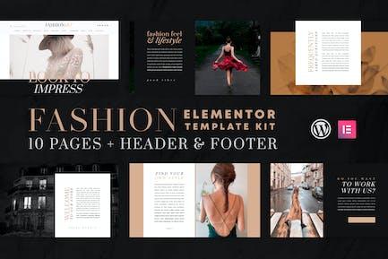 Arte de la moda - WooCommerce Elementor Template Kit