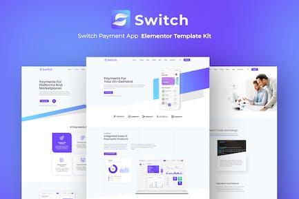 Schalter - Payment App Elementor Template Kit